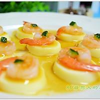 日本豆腐蒸虾仁的做法图解5