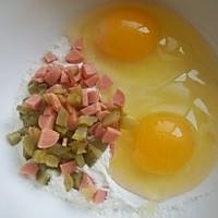 酸黄瓜鸡蛋饼的做法图解2