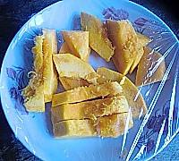 南瓜毛毛虫面包的做法图解1