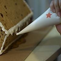 圣诞姜饼屋的做法图解33
