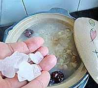 补血养颜粥-花生杏仁红枣粥的做法图解8