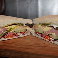 蛋黄酱三明治的做法图解8