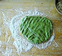 山药绿茶糕的做法图解12