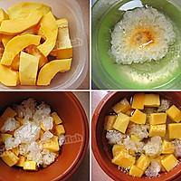 平民的燕窝——雪耳冰糖炖木瓜的做法图解1