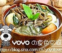 蔬菜羊肚汤的做法图解6