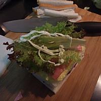 蛋黄酱三明治的做法图解6