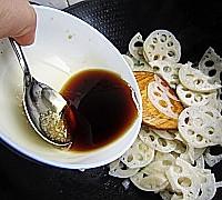 糖醋藕片的做法图解5