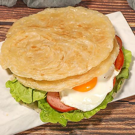 安特鲁七哥 手抓饼30片家庭装80g/片早餐首选