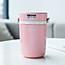 ASVEL日式三层保温便当饭盒/粉色700ml小图4
