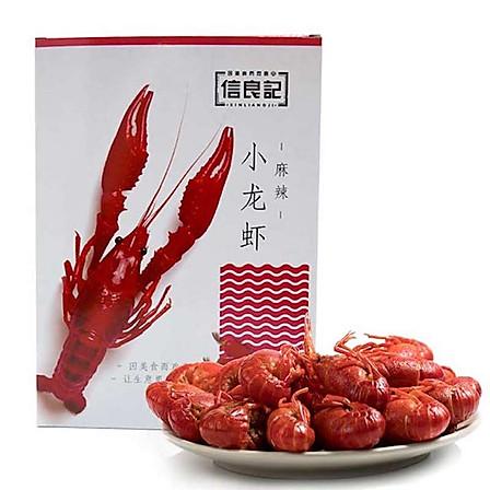 信良記 麻辣小龍蝦中號 600g 4-6錢/22-25只 凈蝦500g