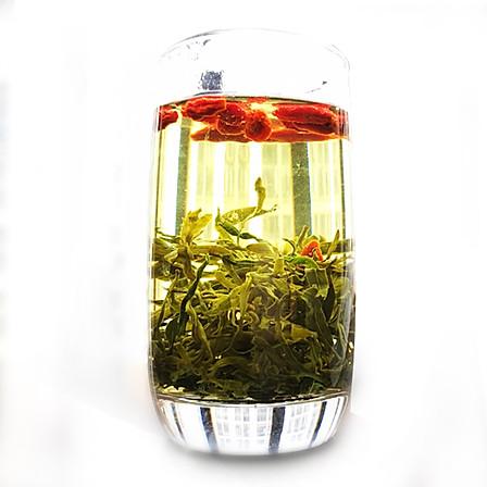 【买2份立减15元】崛杞 枸杞芽茶100g/盒 7月新茶  降血糖 护眼睛