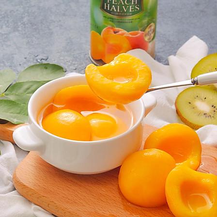 天天罐养| 出口级对开黄桃罐头425g*5罐 安全零防腐