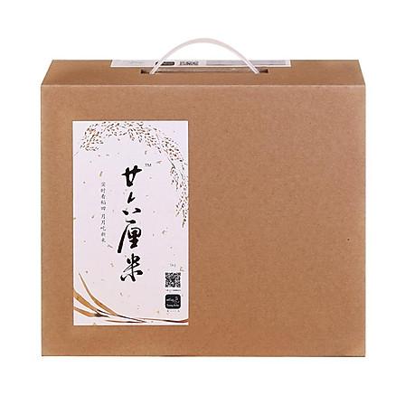 二十六厘米 五常稻花香2號大米 5kg 禮盒裝