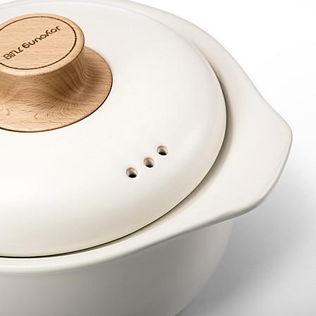 九阳(Joyoung)2.5L砂锅炖锅煲汤锅陶瓷汤煲(白色)TCC2501