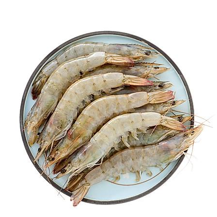 厄瓜多尔白虾 50/60(100-120只)2kg/规格: 2kg(50/60 100-120只)