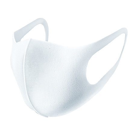 日本原產PITTA多孔過濾防護口罩防塵口罩可清洗口罩3枚裝/白色