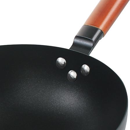 【升级版】皇家骑士铁匠锅三件套炒锅30cm+煎锅28cm+榉木双耳汤锅24cm