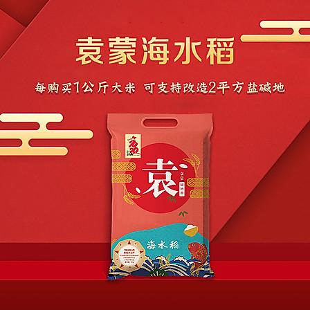【买一送一】 袁蒙 海水稻大米10斤【2月新米】