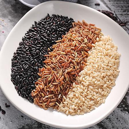 北纯  东北杂粮糙米+黑米+红米 三色糙米1kg*2袋