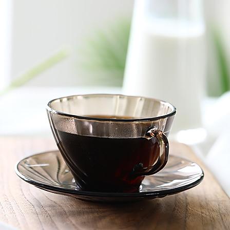 法国进口 DURALEX多莱斯 家用双人咖啡杯碟套装