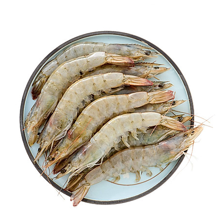 厄瓜多尔白虾50/60(100-120只)2kg